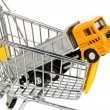 Stock Photo: Cart and trucks