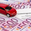 Lease for new car — Stock Photo #19672553