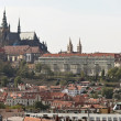 Prague, charles bridge, prague castle and hradcany - Stock Photo