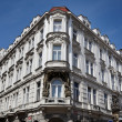 Prague, beautifully renovated houses n the old town — Stock Photo #19676355