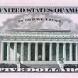 U.s. dollar bills. detail - Stock Photo
