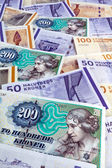 Danish crowns. currency denmark — Stock Photo
