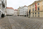 Austria, vienna, judenplatz — Stock Photo