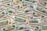 Dólares. billetes americanos — Foto de Stock