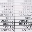 Stock Photo: Statistics and tables