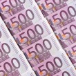 Five hundred euro notes — Stock Photo #21179811