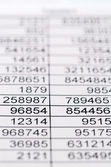 Statistics and tables — Stock Photo