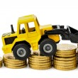 Rising costs in construction industry — Stock Photo #21199515