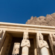 Egypt, west thebes, hatshepsut temple - Stock Photo