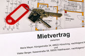 Lease in german — Stock Photo