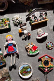 Kitschy souvenirs in mondsee, upper austria — Stock Photo