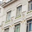 Beautifully renovated art nouveau building — Stock Photo #22719665