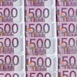 Five hundred euro notes — Stock Photo #22734249