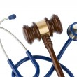Gavel and stethoscope — Foto Stock #22735015