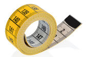 Yellow tape measure — Stock Photo