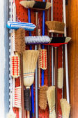 Broom cupboard — Stock Photo