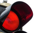 Red light at traffic lights — Stock Photo