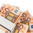 Many euro notes — Stock Photo #24407625