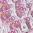 Five hundred euro notes — Stock Photo #24694469