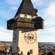Stock Photo: Austria, styria, graz clock tower