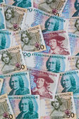 Swedish crowns. currency of sweden — Stock Photo