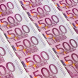 Five hundred euro notes — Stock Photo #26172919