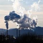 Smoking chimneys of a factory — Stock Photo #26176019