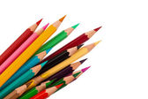 Many colored pencils — Stock Photo