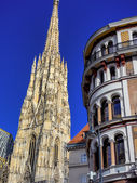 Vienna. austria. st. stephen's cathedral — Stock Photo