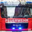 Stock Photo: Vehicle of the fire brigade