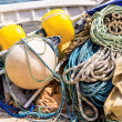Equipment on a vessel — Stock Photo