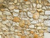 Stone wall, natural stones — Stock Photo