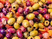 Variety of olives — Stock Photo