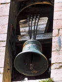 Bell in an old tower — Stock Photo