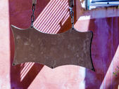 Shield, copy space — Stock Photo
