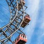 Oil austria, vienna, ferris wheel — Stock Photo