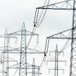 Current keys of power line — Stock Photo #28013443