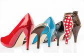 Yüksek topuklu ayakkabılar korumak — Stok fotoğraf
