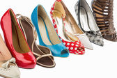 Protect shoes with high heels — Stock Photo