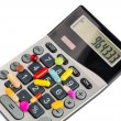 Tablets and calculators — Stock Photo