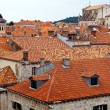 Croatia, dubrovnik, rooftops — Stock Photo