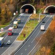 Tauern motorway in salzburg — Stock Photo #32245231