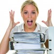 Despair by bureaucracy — Stock Photo