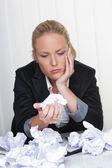 Förtvivlan av byråkrati — Stockfoto
