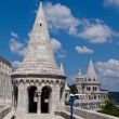 Stock Photo: Hungary, budapest, fisherman's bastion.
