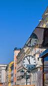 Austria, linz's main square — Stock Photo