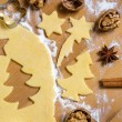 Stock Photo: Cookies for christmas
