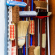 Stock Photo: Broom cupboard