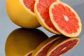 Portakal dilimleri — Stok fotoğraf