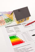 Certification for single family, austria — Stock Photo